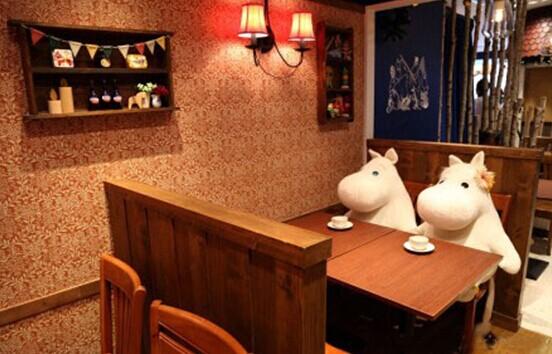 激萌姆明主题餐厅香港海港城开幕